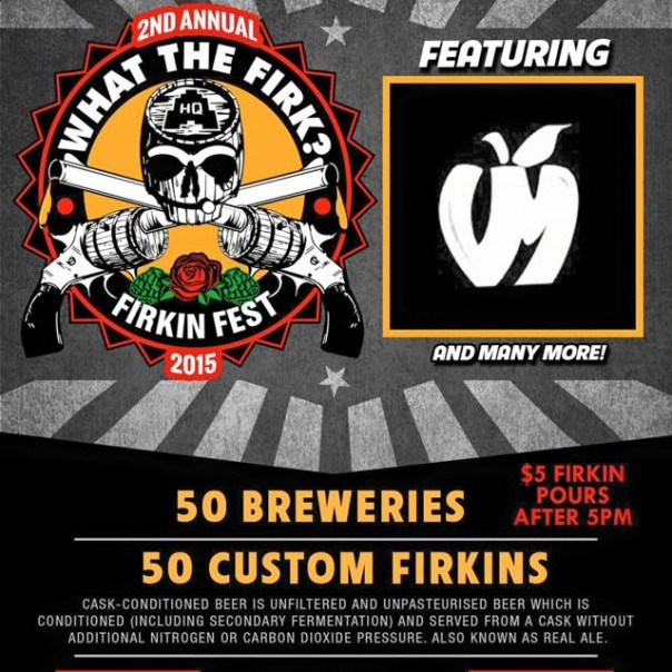 What the Firks? 2nd Annual Firkin Fest