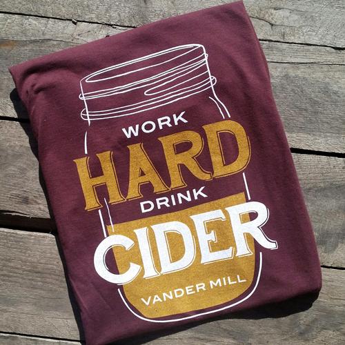 Work Hard Drink Cider