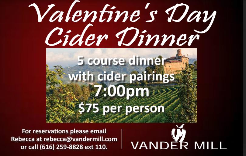 Valentine's Day Cider Dinner