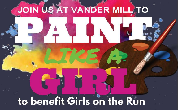 Paint Like A Girl to Benefit Girls On The Run