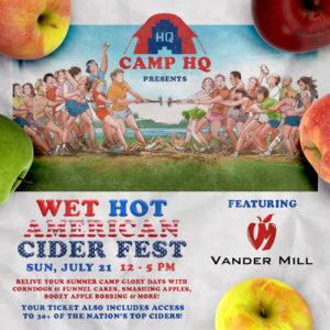 Vander Mill at Wet Hot American Cider Fest
